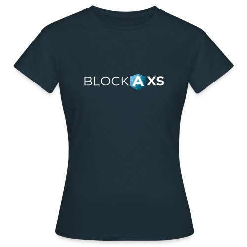 BlockAxs weiß - Frauen T-Shirt