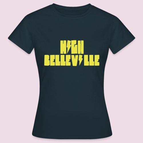 HIGH BELLEVILLE - T-shirt Femme