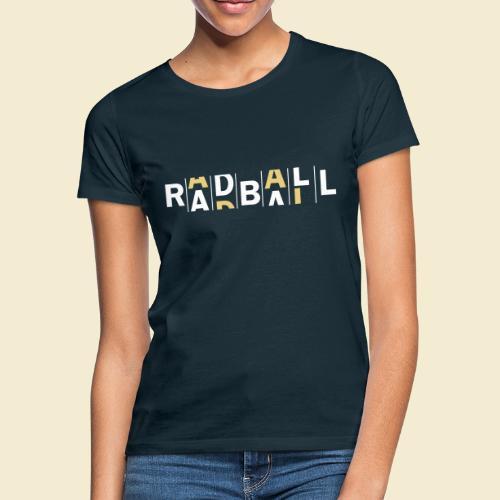 Radball - Frauen T-Shirt