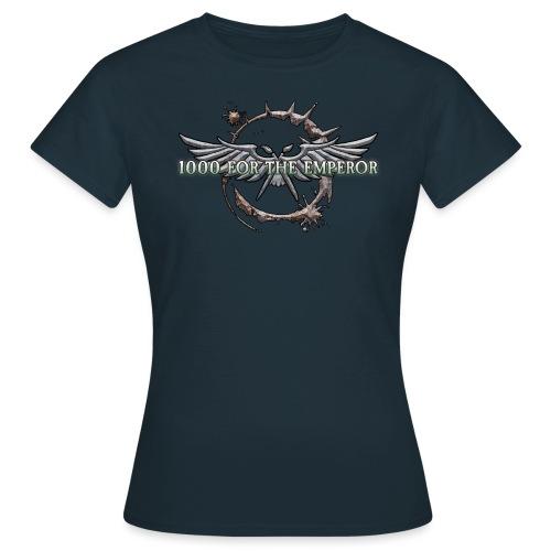 1000 für den Imperator - das Logo!! - Frauen T-Shirt