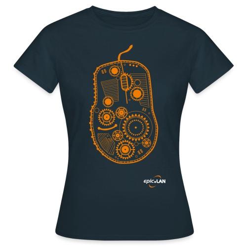 OrangeMouseWithLogo png - Women's T-Shirt