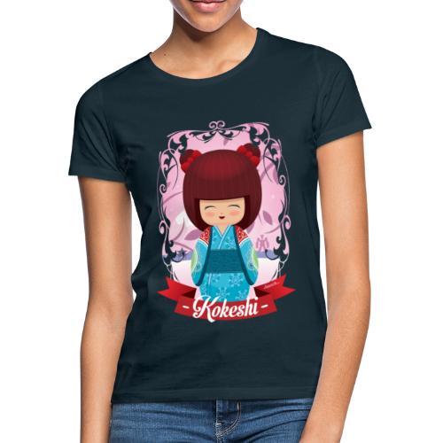Kokeshi mod.2 - Frauen T-Shirt