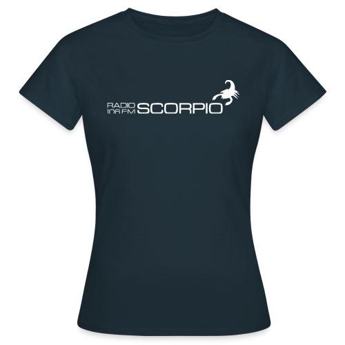 scorpio logo wit - Vrouwen T-shirt
