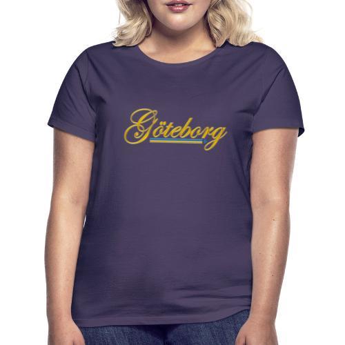 Göteborg - T-shirt dam