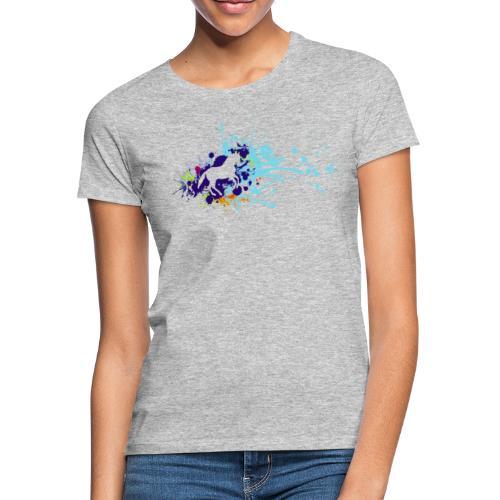 Galopp Klecks - Frauen T-Shirt