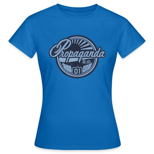 PROPAGANDA 01 BLUE - Women's T-Shirt