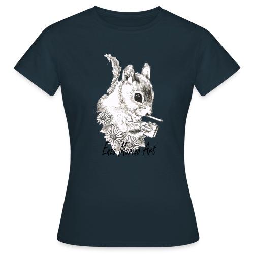 Ecureuil la clope - T-shirt Femme