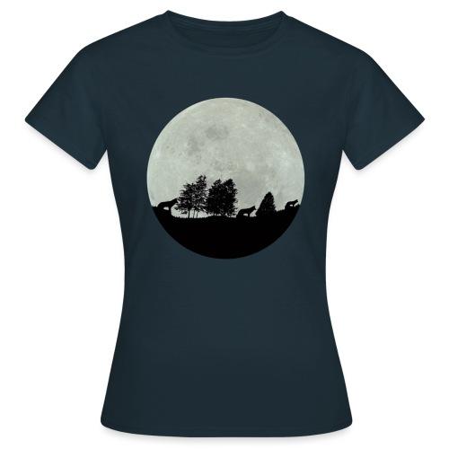 moon wolf - T-shirt Femme