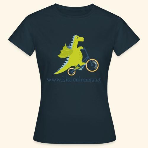 Musikdrache für hellen Hintergrund - Frauen T-Shirt