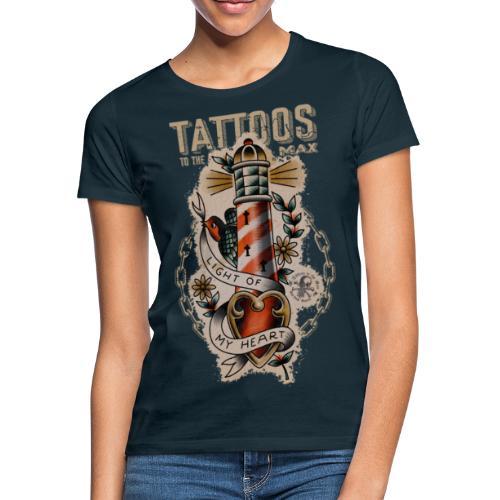 Lighthouse Leuchtturm Tattoos to the Max - Frauen T-Shirt