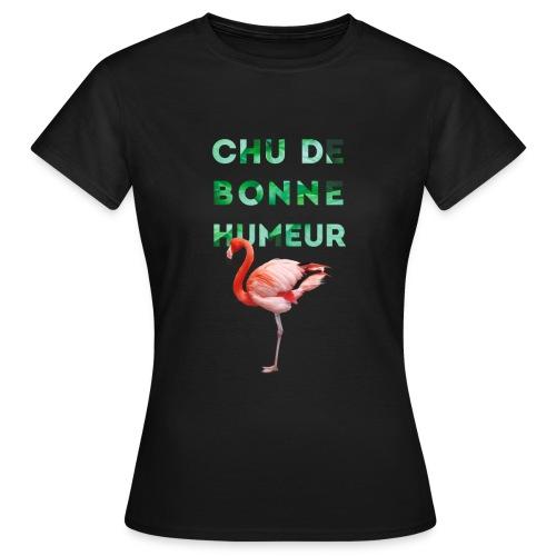 Pl_tshirt_typo flamand_40 - T-shirt Femme