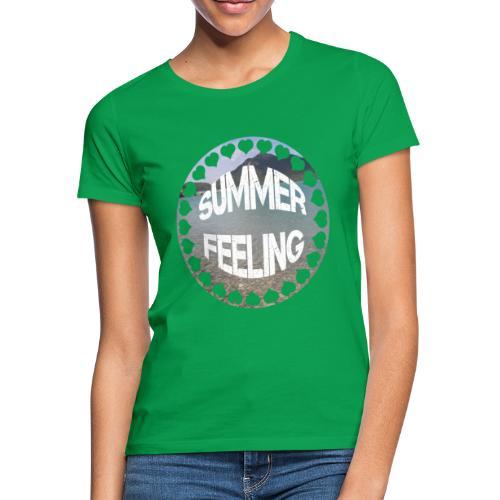 LIMITED SUMMER FEELING Schriftzug - Frauen T-Shirt