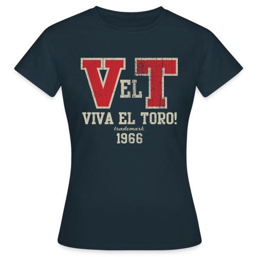 VIVA EL TORO! Collegiate Bulls - Maglietta da donna
