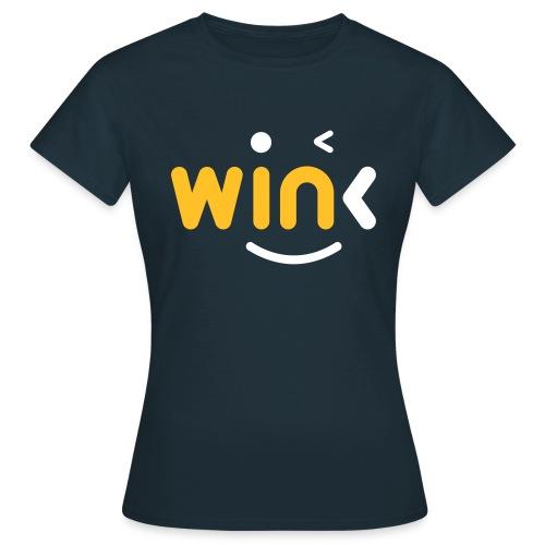 Wink Logo Merchandise - Women's T-Shirt