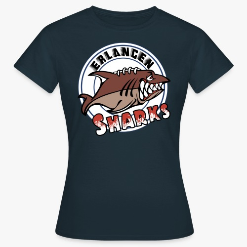 Erlangen Sharks Color - Frauen T-Shirt