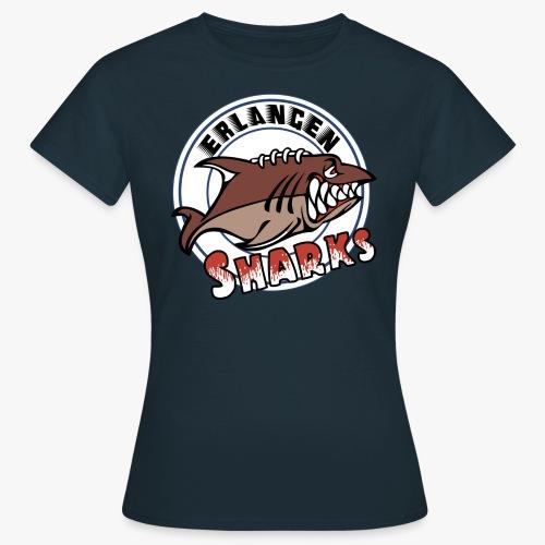 Erlangen Sharks Logo - Frauen T-Shirt