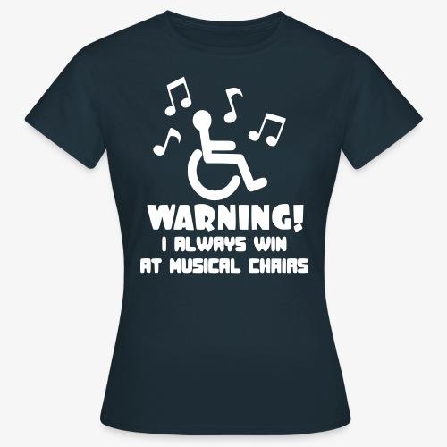 > Stoelen dans voor rolstoel gebruikers - Vrouwen T-shirt