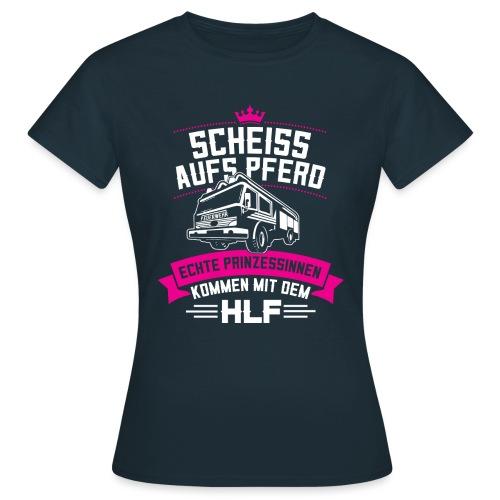 Feuerwehr HLF Prinzessin - Frauen T-Shirt