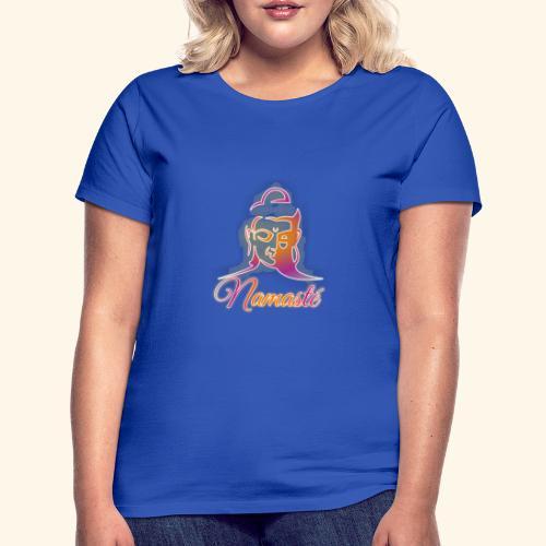 Buddha - Namasté - Frauen T-Shirt