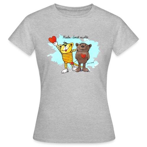 Janosch Tiger Und Bär Beste Freunde Liebe - Frauen T-Shirt