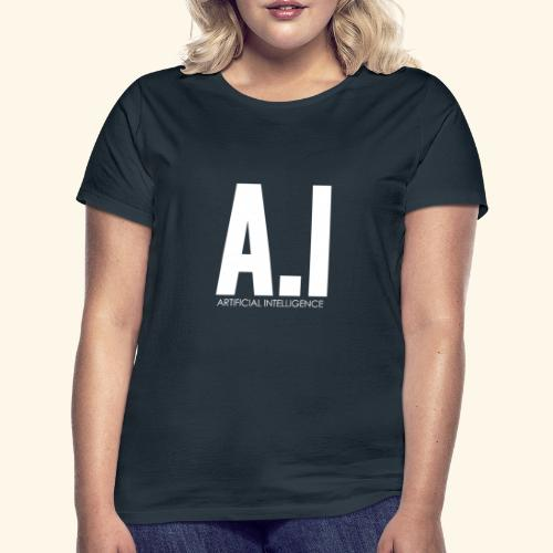 AI Artificial Intelligence Machine Learning - Maglietta da donna