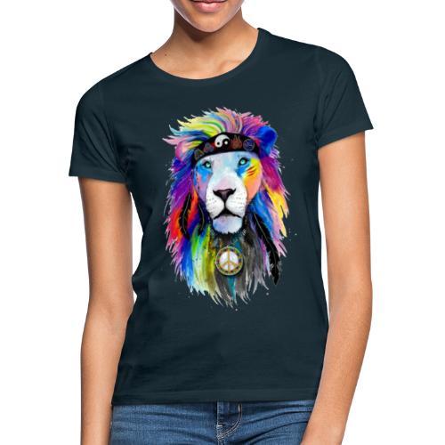 León hippie - Camiseta mujer