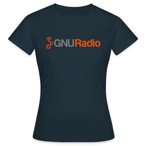 GNU Radio Logo No Tagline - Frauen T-Shirt