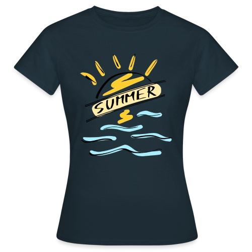Summer - T-shirt Femme