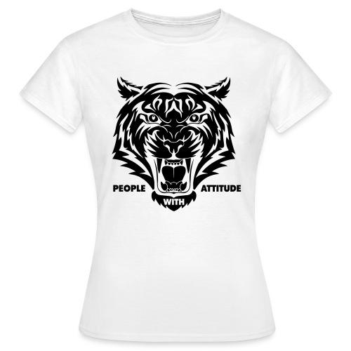 tijger-zwart - Vrouwen T-shirt