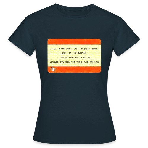 Party Town Ticket - Women's T-Shirt