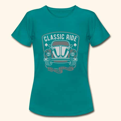 Classic Ride - Frauen T-Shirt