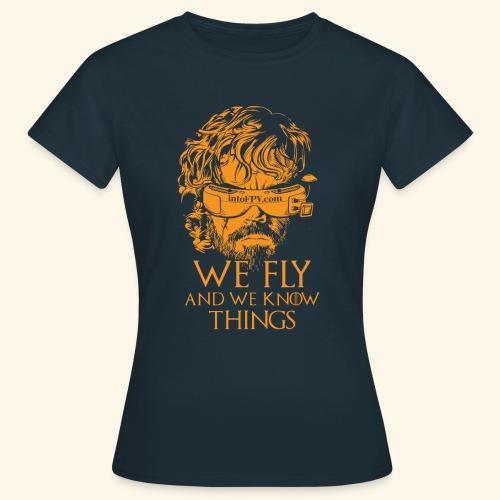 IntoFPV - GOT T-Shirt (Dark Color) - Women's T-Shirt