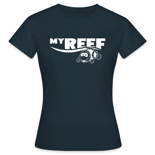 MyReef WhiteOnTransparent png - Vrouwen T-shirt