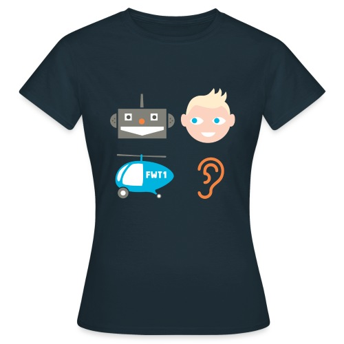 Robbi, Tobbi, Fliewatüüt - Frauen T-Shirt