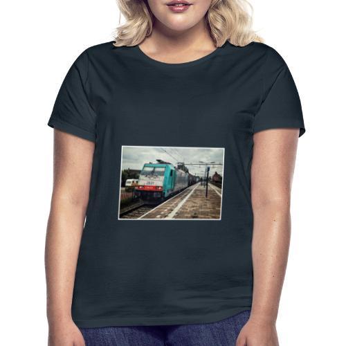 Goederentrein in Gilze-Rijen - Vrouwen T-shirt