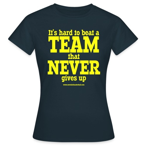 Its Hard Yellow - T-shirt dam