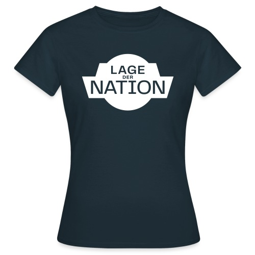 Lage der Nation Weiß Transparent - Frauen T-Shirt