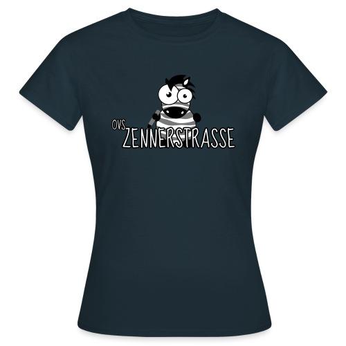 Zebra SW weiss - Frauen T-Shirt