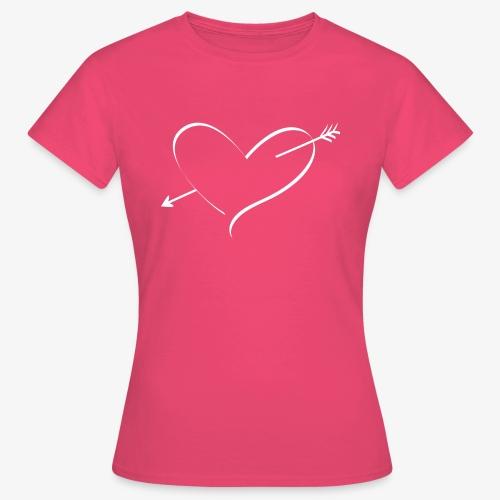 Heart White - Women's T-Shirt