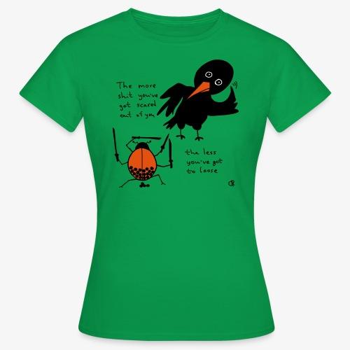 Bug and bird - Frauen T-Shirt