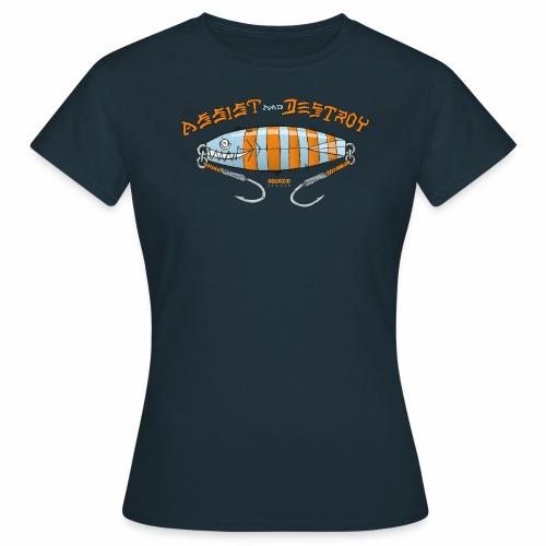 Assist & Destroy - Metal Jig - Women's T-Shirt