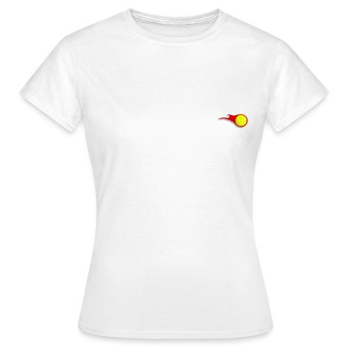 Stick Tennis Logo - Women's T-Shirt