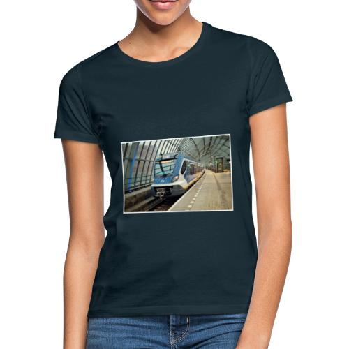 Sprinter in Amsterdam Sloterdijk - Vrouwen T-shirt