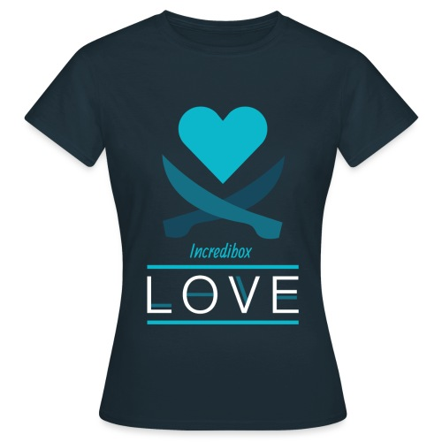 THE LOVE - T-shirt Femme