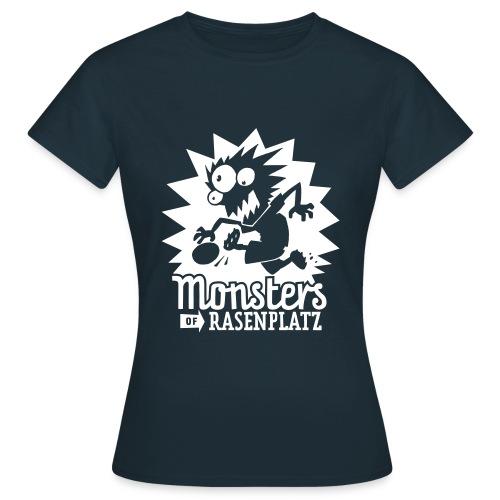 Monsters 2 black - Frauen T-Shirt