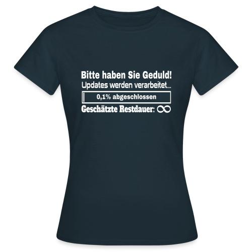 Update Ladebalken - Frauen T-Shirt
