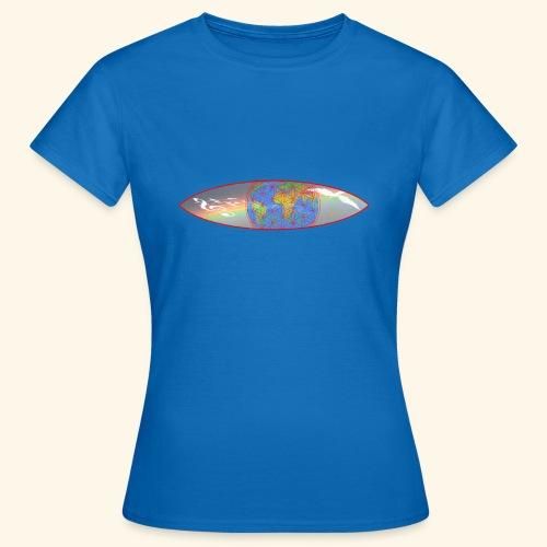Heal the World - Frauen T-Shirt