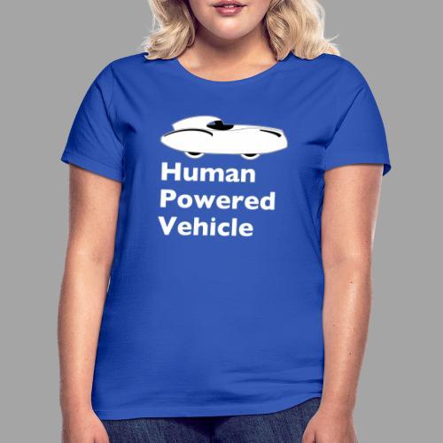 Quattrovelo Human Powered Vehicle white - Naisten t-paita