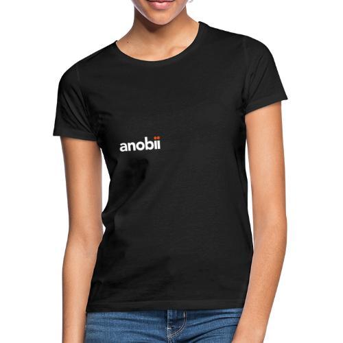 Anobii logo (white) - Women's T-Shirt