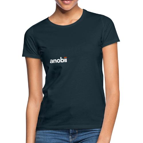 Anobii logo (white) - Women's T-Shirt
